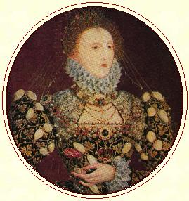 Queen Elizabeth by Hilliard
