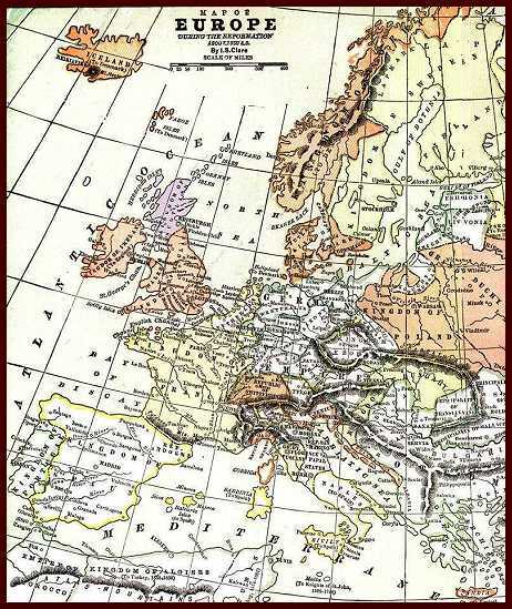 Life In Elizabethan England Maps Europe