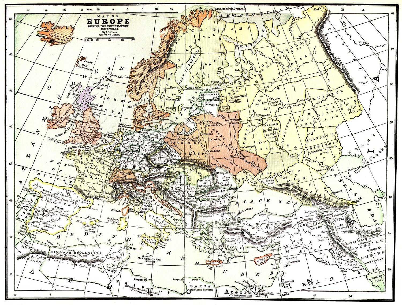 Life In Elizabethan England Maps Europe
