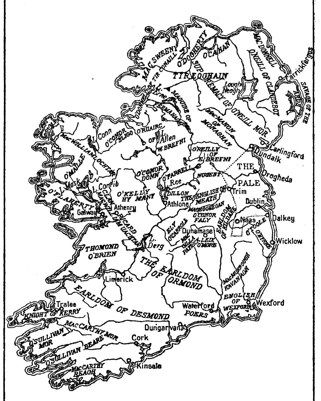 Map Of England In 1500.Life In Elizabethan England Maps Ireland 1500